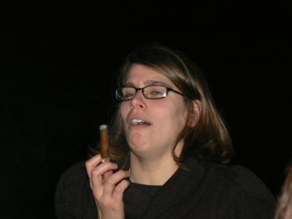 Fumer, c'est pas très glamour
